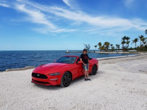 Dieses Foto von mir ist im April 2018 auf dem Weg nach Key West entstanden.