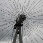Detailaufnahme des London Eye