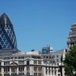 Moderne und historische Bauten prägen das Londoner Stadtbild