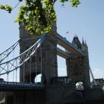 Nahaufnahme der Tower Bridge in London