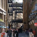 Geschäftsstraße in London