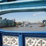 Blick auf die Themse in London