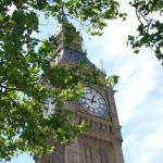 Big Ben, eines der Wahrzeichen von London