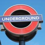 Londoner U-Bahn-Schild