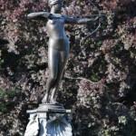 Statue in einem Londoner Park