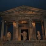 Historisches Bauwerk im British Museum in London