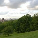 Einer der vielen Parks in London