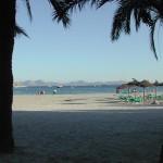 Strandabschnitt auf Mallorca