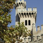 Alter Festungsturm auf Mallorca