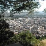 Dächer einer Kleinstadt auf Mallorca