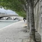 Am Seineufer in Paris
