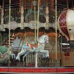 Historisches Karussell in Paris