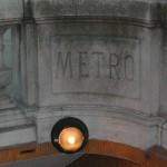 Métrozugang in Paris