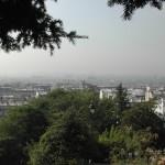 Blick von Sacré-Cœur auf Paris