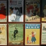 Historische Werbeschilder in Paris