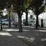 Am Montmartre in Paris