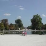 Brunnen im Jardin du Luxembourg in Paris