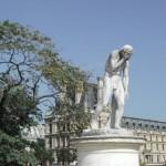 Statue in den Tuilerien von Paris