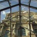 Teil des Louvre in Paris