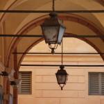 Laternen in Modena (Italien)