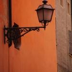 Alte Laterne in Modena (Italien)
