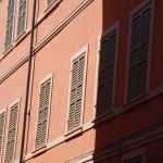 Hausfront in Modena (Italien)