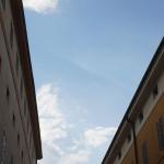 Der Himmel über Modena (Italien)