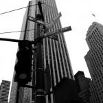 Typisches Stadtbild in New York City