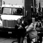 Auf den Straßen New York City