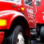Coca Cola-Truck in New York City
