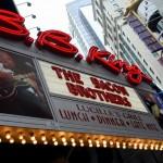Theaterschild am Broadway in New York City