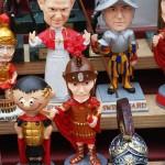 Römische Souvenirs aus Rom made in China