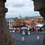Blick auf einen Teil Roms