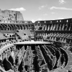 Das Innere des Kolosseums in Rom