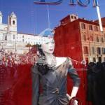 Dior an der Spanischen Treppe in Rom