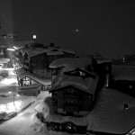 Nacht in Val Thorens