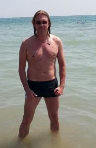 Dieses Foto von mir ist im Sommer 2013 während eines Aufenthaltes in Venedig in der Adria entstanden.