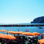 Am Strand der Poseidon-Gärten