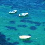Blaues Meer am Castello Aragonese