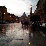 Rom im Regen