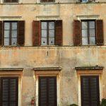 Eine typisch römische Häuserfront
