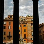 Blick aus dem Pantheon