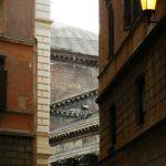 Blick auf einen Teil des Pantheons