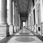 Ein typisch römischer Säulengang