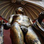 Eine Statue im Vatikanischen Museum