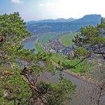 Das Elbtal in der Sächsischen Schweiz
