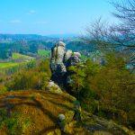 Herrlicher Ausblick in der Sächsischen Schweiz