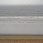Nordsee bei Norderney im Herbst