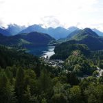 Blick vom Schloss Neuschwanstein auf den Alpsee
