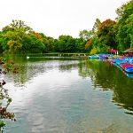See im Englischen Garten in München